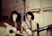BACKSTAGE AT THE GLEN CAMPBELL GOODTIME HOUR WITH MY BUDDY JOHN HARTFORD 1968