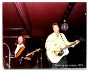 ONSTAGE WITH RICKY NELSON 1979