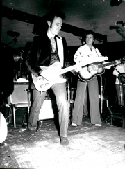ONSTAGE WITH RICKY NELSON AT THE PALOMINO CLUB 1979