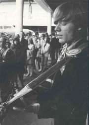 PLAYING AT THE CLEN CAMPBELL GOODTIME HOUR AT CBS STUDIOS 1968