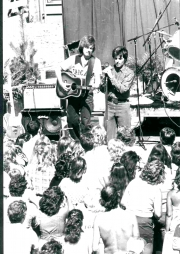 PLAYING THE NAPA COUNTY FAIR WITH RICKY NELSON 1979
